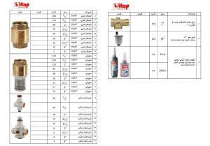 لیست قیمت شیرخودکارفنری یورک ایتالیا